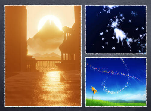 陈星汉ThatGameCompany三部曲《Flow》《Flower》《Journey》
